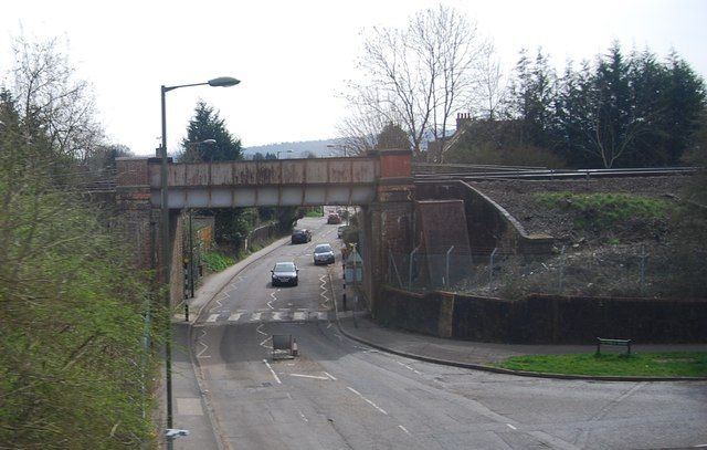 Railway Bridge, Bletchingley Rd