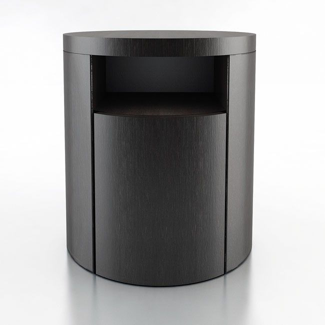 The Mulberry round nightstand (by ModLoft)
