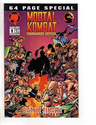 MORTAL KOMBAT TOURNAMENT EDITION 1 VF December 1994 COMICS BOOK: $8.00 End Date: Monday Apr-9-2018 10:50:11 PDT Buy It Now for only: $8.00…