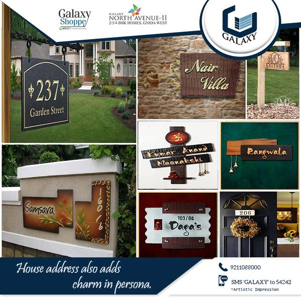 An elegant house address plays an important role in your life so switch your address to  #GalaxyNorthAvenueII and make your life easy with #Galaxyshoppe. #TheGalaxyGroup #Apartment #CommercialProperty #ResidentialProperty