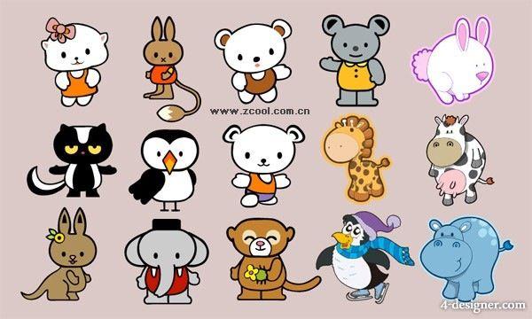 Cute Cartoon Animals Cartoons Drawings