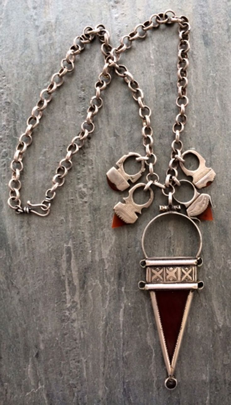185 best tuareg jewelry images on pinterest tribal jewelry ethnic by djore designs necklace five tuareg tiscks on a sterling silver chain mozeypictures Image collections