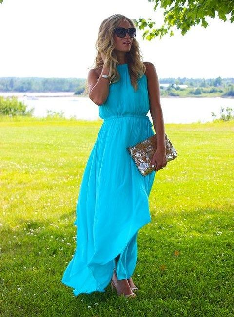 Simple  Stunning Summer Wedding Guest Outfits HappyWedd