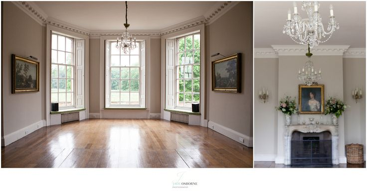 Iscoyd Park Wedding Venue - the drawing room for ceremonies or reception drinks.