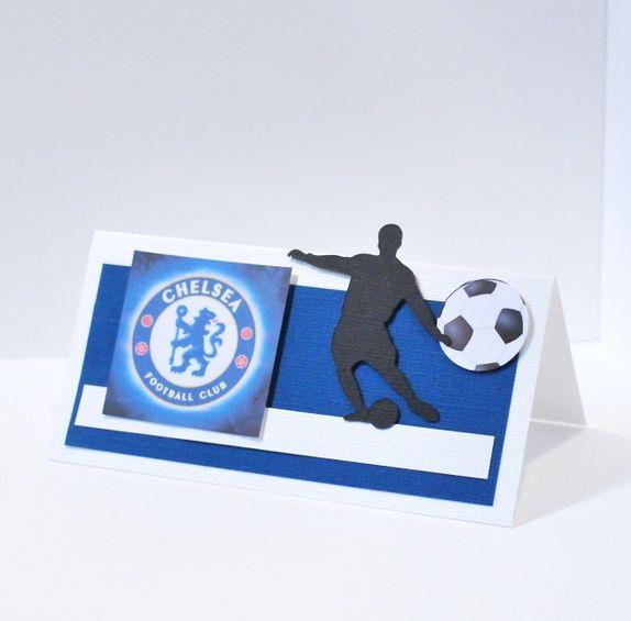 Fotballbordkort Chelsea 40 stk