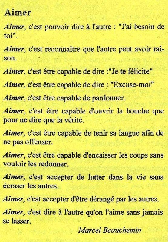 Aimer, c'est ...      Aline ♥