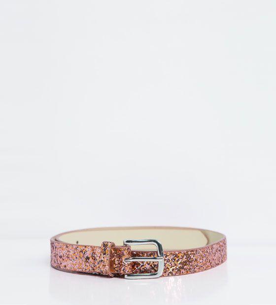 Imagen 1 de Cinturón brillos de Zara