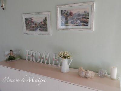 La Maison de Monique: Angoli rinnovati...