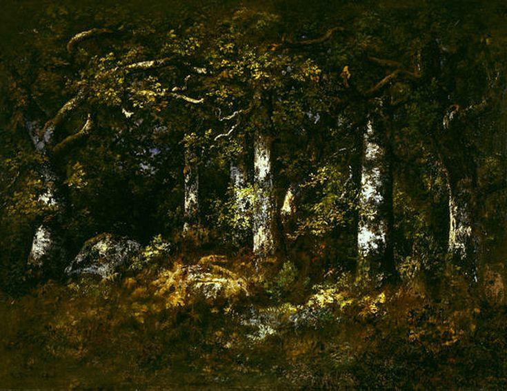 Narcisse Virgilio Díaz | Forest of Fontainebleau, 1868 | Dallas Museum of Art | Barbizon School/Realism