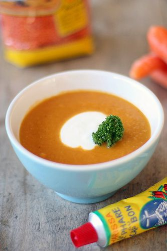 Spicy wortelsoep