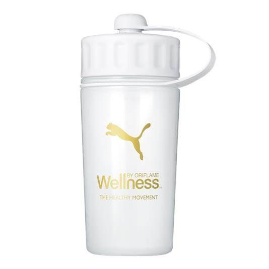 New product 'Wellness water bottle PUMA' added to Orinet independent Oriflame Consultants! - £9.95 - 28834 - Practical, high-quality water bottle for athletes, developed in collaboration with PUMA.  With hygienic, well-sealing ca…
