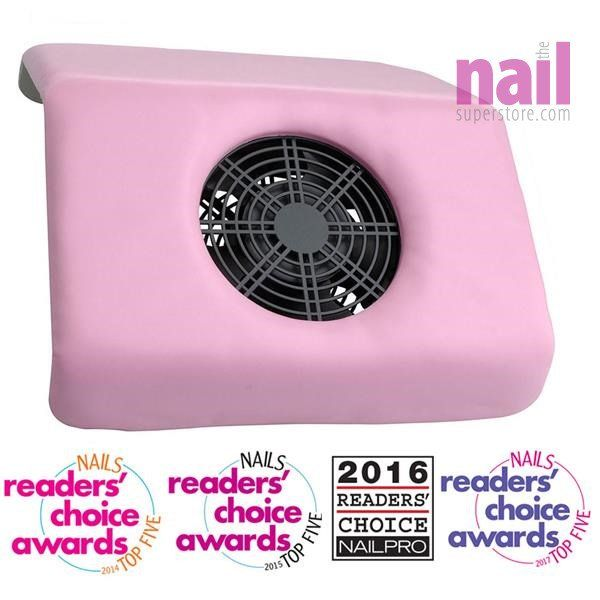 Protool Nail Dust Collector Winner Of Nails Magazine Readers Choice Awards Fuchsia Pink 110v Each Nail Dust Collector Dust Collector Magazine Readers