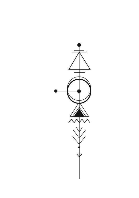 Geometric Arrow Tattoo | Personal Tattoo design
