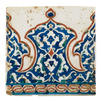 Iznik tile ,Turkey16 th C