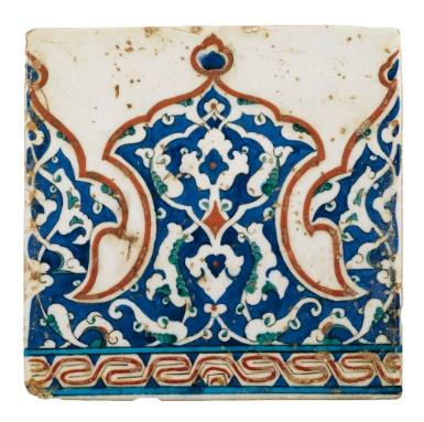 Iznik tile ,Turkey16 th C
