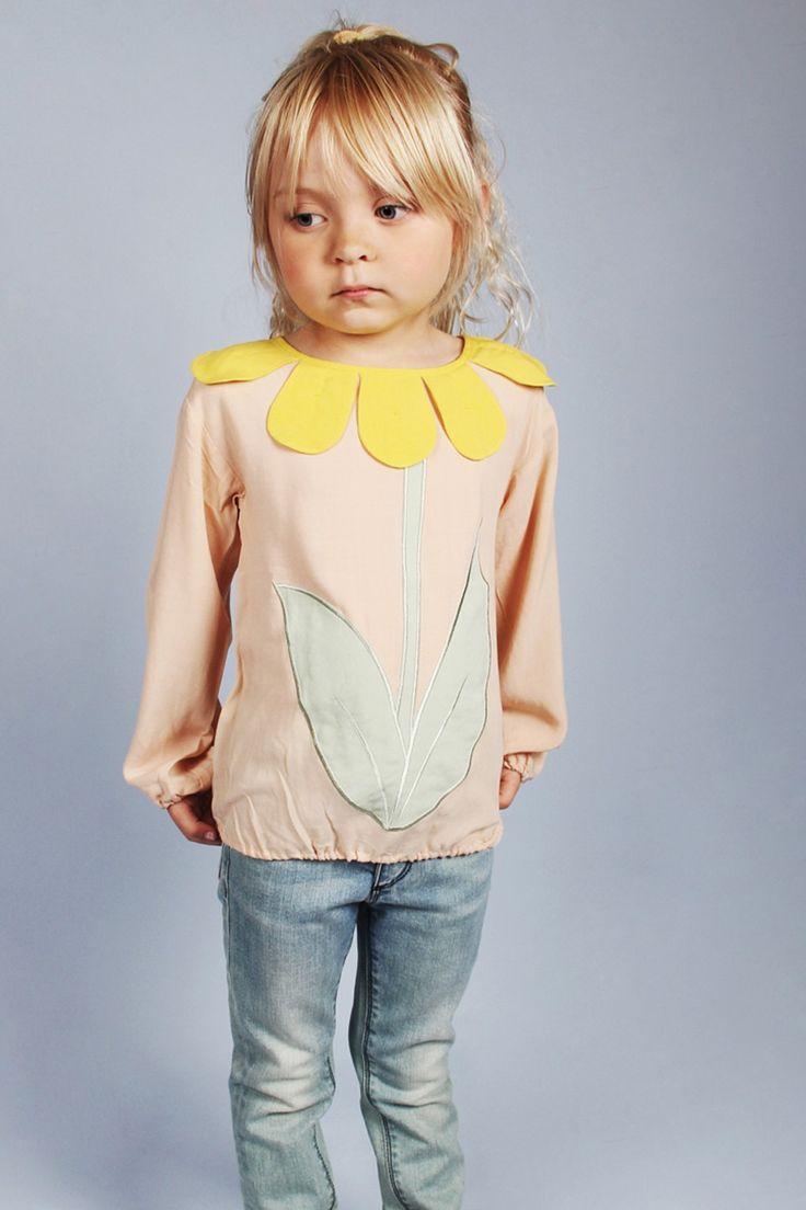 Bloemen blouse - Mini Rodini