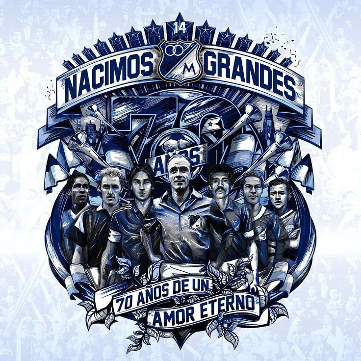 Millonarios FC 70 Años