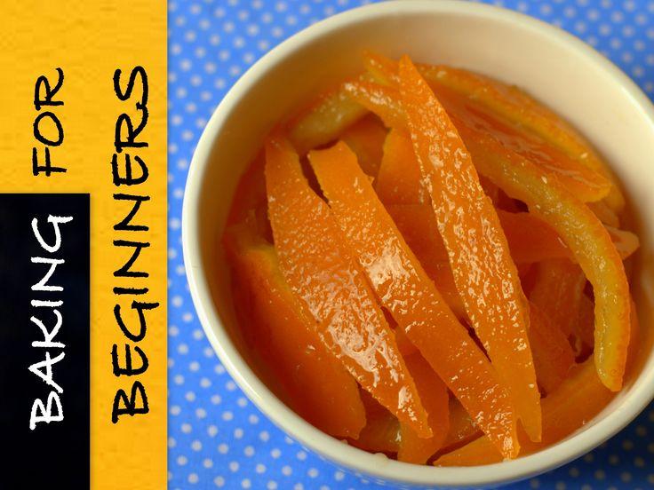 How To Make Candied Orange Peels / Candied Orange Peel Recipe