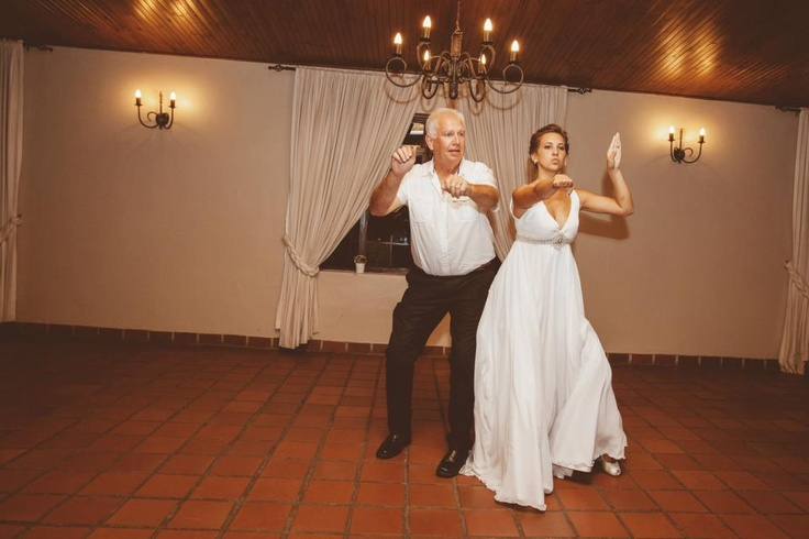 Dad and I rocking our daddy daughter dance :) (His idea)