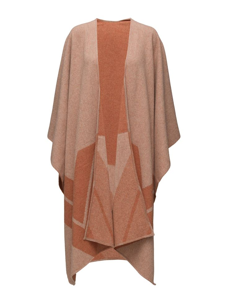 2nd Suee (Mecca) - DAY BIRGER ET MIKKELSEN  Draped styling Open front Pointed hemline Waterfall neckline Made from 100% wool. Wool creates a breathable and insulating fabric that will keep you warm on cool days. Winter Jersey Knitwear Fashion