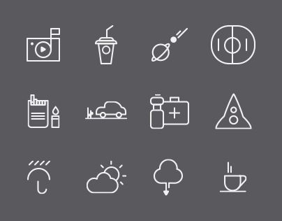 """Check out new work on my @Behance portfolio: """"Free Icons Collection"""" http://on.be.net/1mJSt6z"""