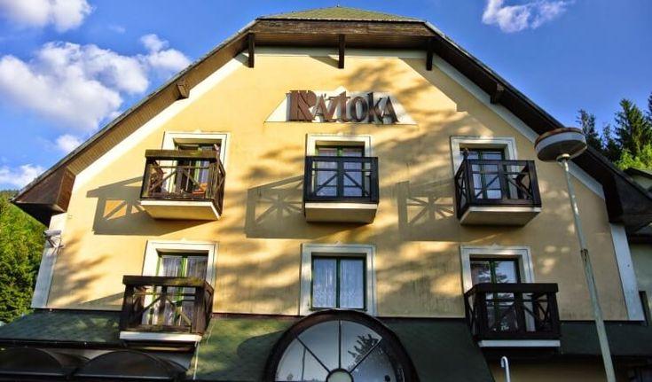 Venkovní pohled - Hotel Ráztoka