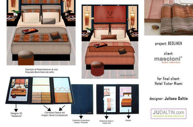 Textile Bedlinen Project Hotel Victor Miami