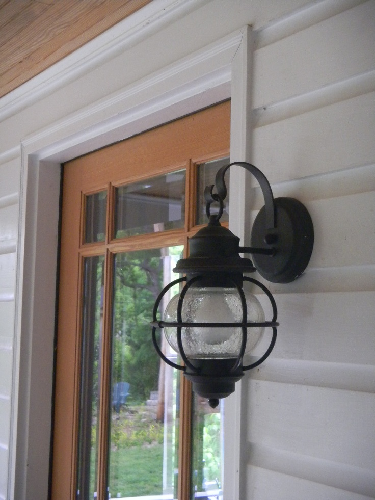 Art Deco Lamp Porch Light (nautical) | My Old House | Porch Lighting