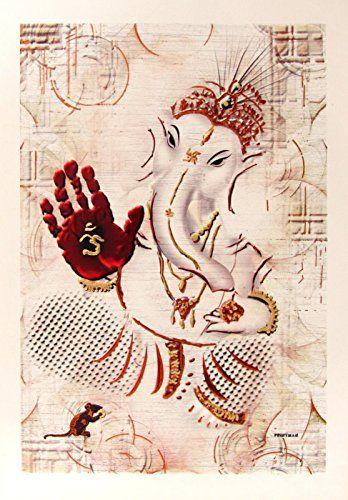 Lord Ganesha / Shree Ganesh / Shri Ganpati / Modern Art P... https://www.amazon.com/dp/B00SJJYIOS/ref=cm_sw_r_pi_dp_KUUyxbJAHHGW9