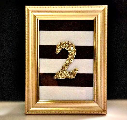 Table Numbers by BrickandLinen on Etsy