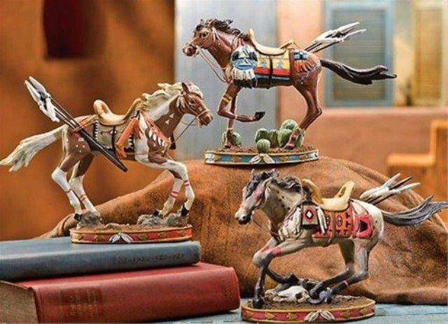 Of Home Native American Decor Horse Statue Best Living Room Design