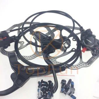 ลดราคา  New SHIMANO BR-BL-M315 MTB bike Hydraulic Disc Brake Set Front andRear Black - intl  ราคาเพียง  1,765 บาท  เท่านั้น คุณสมบัติ มีดังนี้ Product Details: Condition:&Brand New Model:&Shimano BR-M315/BL-M315 Rotor size:160mm Brake Hose:SM-BH59 Color:&Black