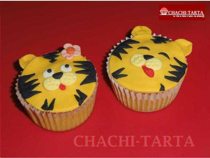 Tigri-cupcakes (sin gluten)