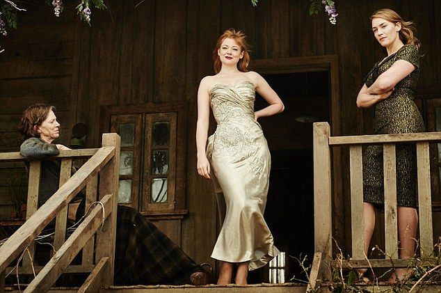 Sneak peek: A new image from The Dressmaker which stars Kate Winslet, Judy Davis and Sarah Snook