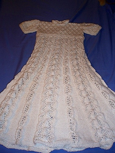 64 best images about Knitted christening gowns on ...