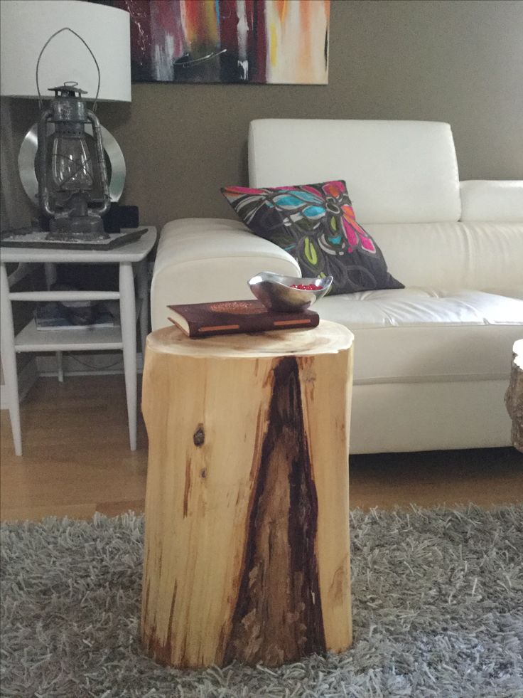 Stump Side Table, Log Tables, Rustic Tables, Tree Trunk Table, Rustic  Furniture