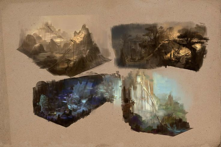 Colour roughs part 2 http://thomasbrissot.com/