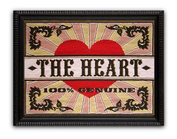 The Heart Cross Stitch