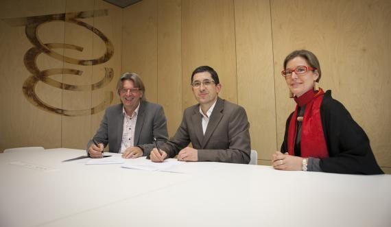 Basque Culinary Center firma un convenio de colaboración con Koppert Cress - Basque Culinary Center