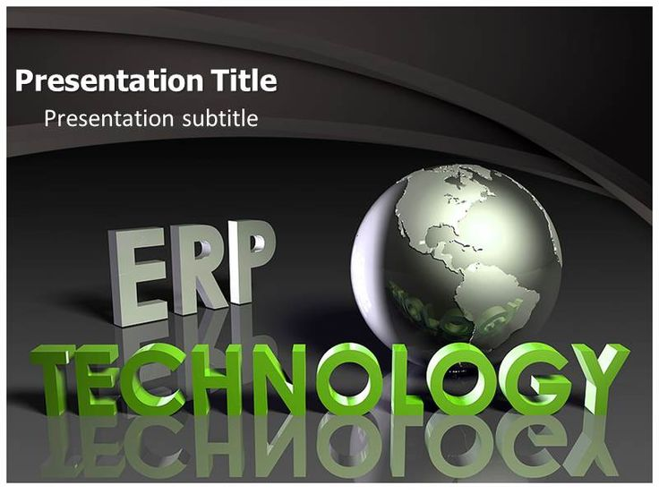 Best Technology Templates Images On   Ppt Template