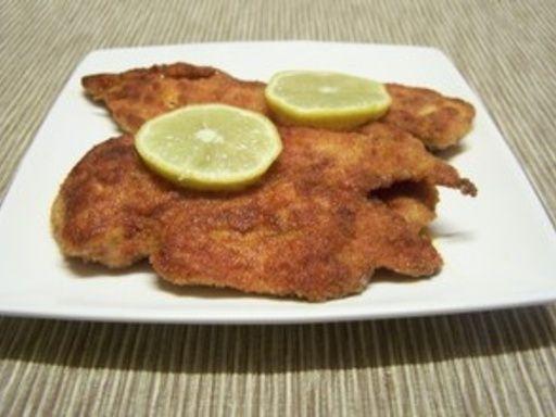 Escalopes de poulet panées : Recette d'Escalopes de poulet panées - Marmiton