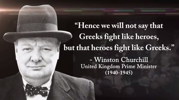"""A video on the Battle of Greece (1940-41) and the """"The Story of Oxi Day"""" by The Washington OXI Day Foundation"""