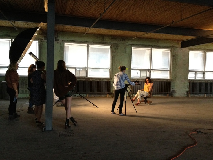 Behind the scenes for our Montreal very first lookbook ! Stay tuned !
