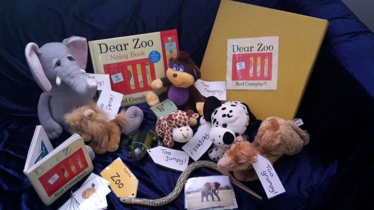 Dear Zoo Story Sack