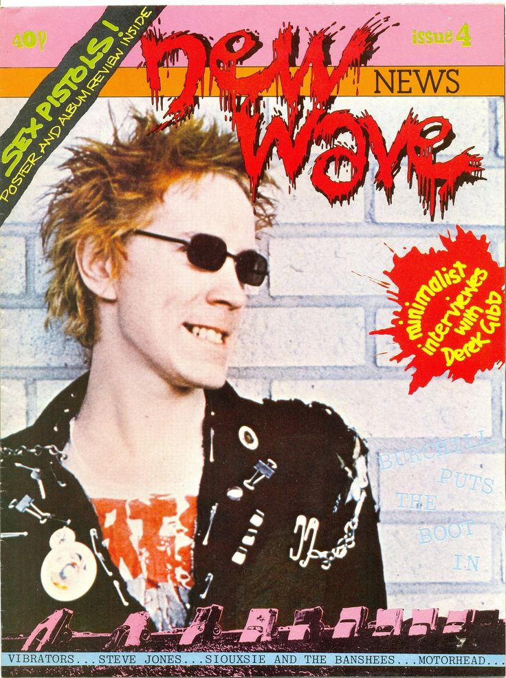 New Wave News poster magazine (1977)