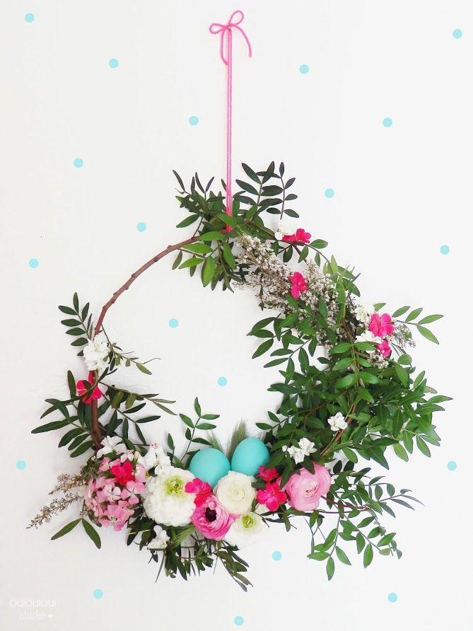 couronne de Pâques chez OUI OUI OUI studio