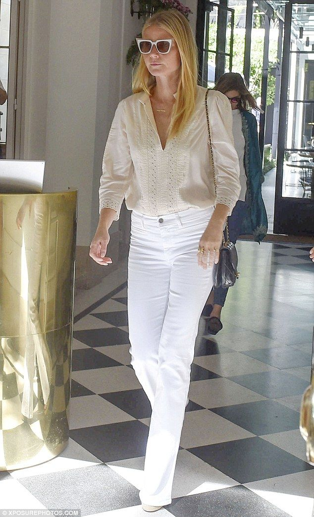 Friendly terms: Gwyneth Paltrow is currently enjoying a relaxing family break in Buenos Ai...