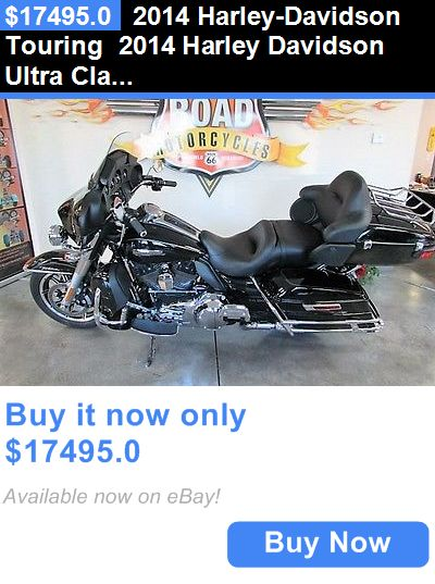 Motorcycles: 2014 Harley-Davidson Touring 2014 Harley Davidson Ultra Classic Electra Glide With Only 5,708 BUY IT NOW ONLY: $17495.0