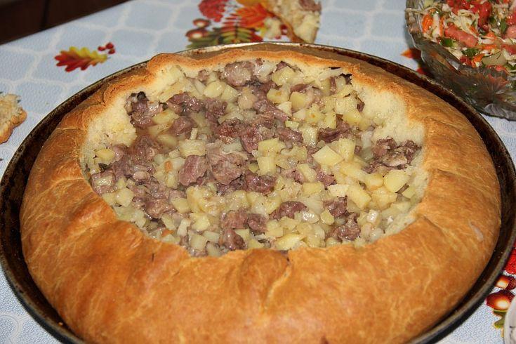 Бэлеш с говядиной и картошкой. М-м-м-м-м
