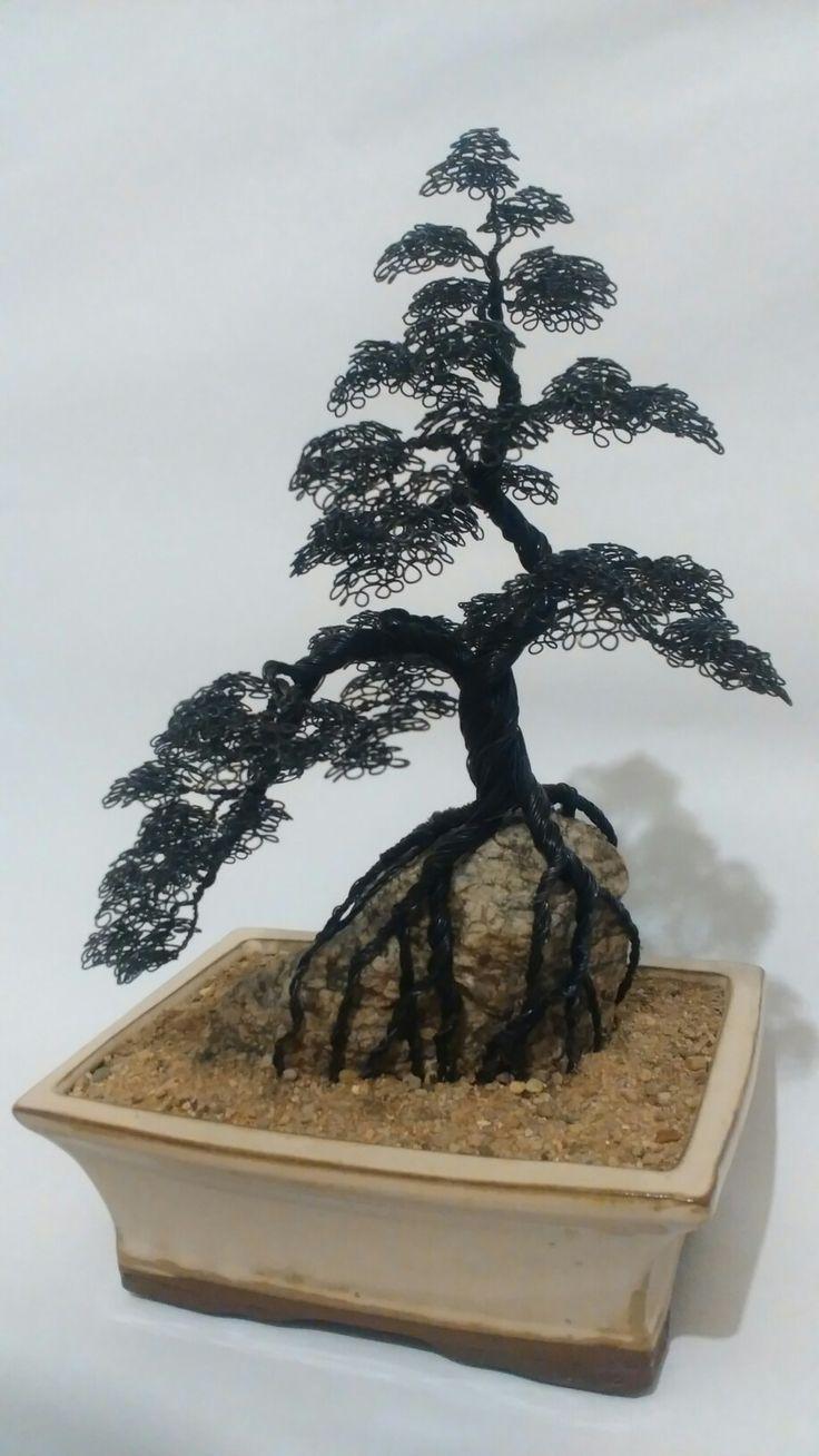 wire tree - obyčejný drát 0,6mm